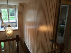 How to Paint over Wallpaper That Won't Come Off - Dfranco ...