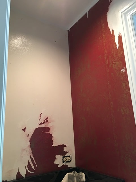 How to Paint over Wallpaper That Won\u002639;t Come Off  Dfranco Finishes
