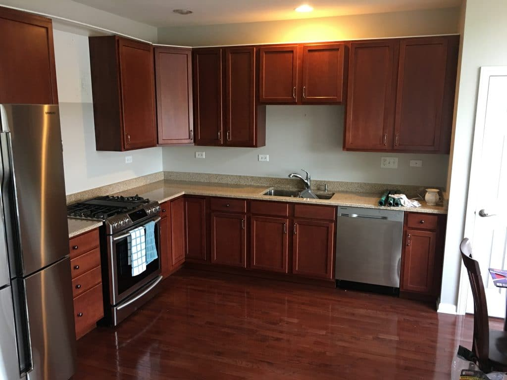 cherry finish kitchen cabinets paint the cherry cabinets in your home your 5371