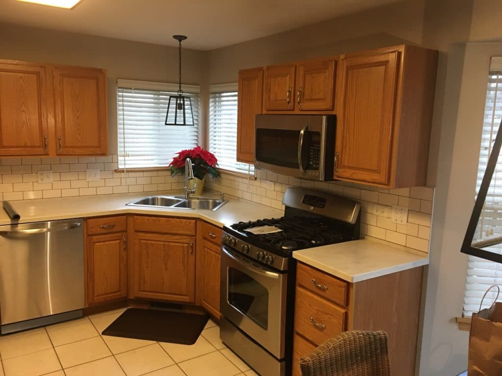 Solid Oak Cabinets Paint Your