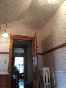 commercial and residential wallpaper installation
