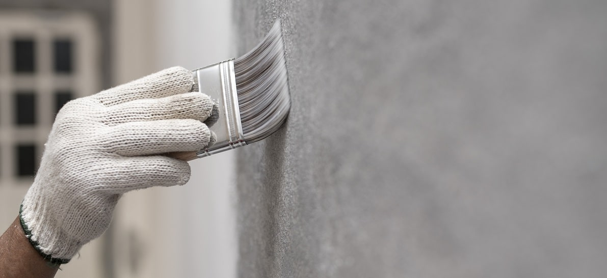 How to Remove Commercial Wallpaper - paint over wallpaper