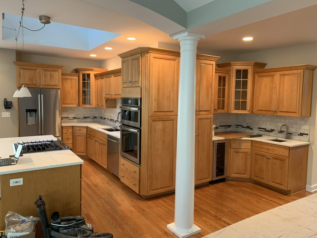 Can Maple Cabinets be Painted White? - D'franco Finishes on Maple Cabinets  id=88341