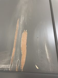 veneer coming loose from cabinets - cabinet painting