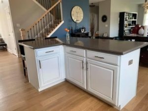 painting cherry cabinets