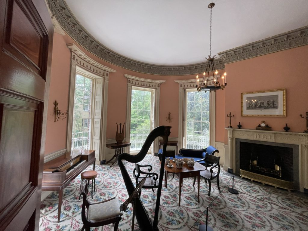 Nathaniel Russell House wallpaper