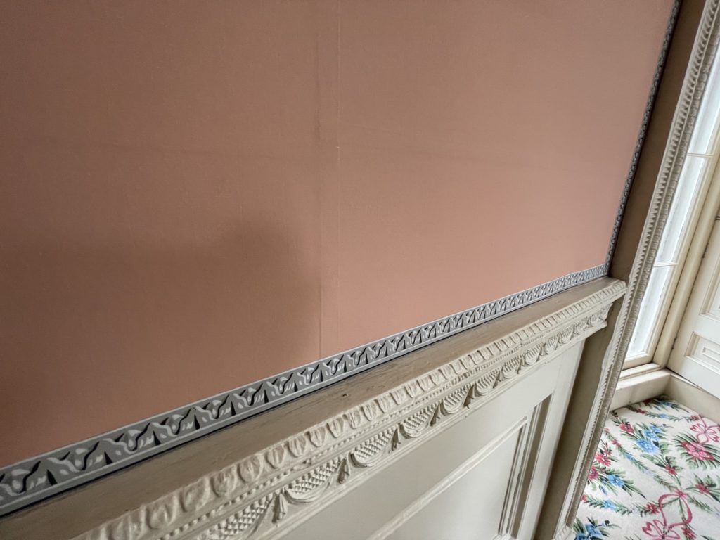 wallpaper from Nathaniel Russel home